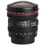 Lensa Canon EF 8-15mm f4L fisheye USM