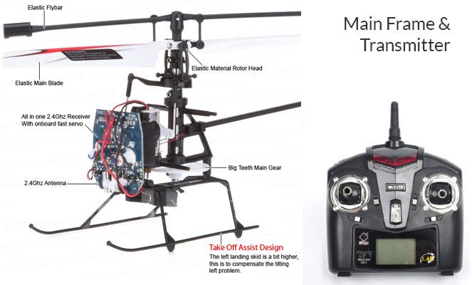 Main Frame Transmitter WL Toys V911