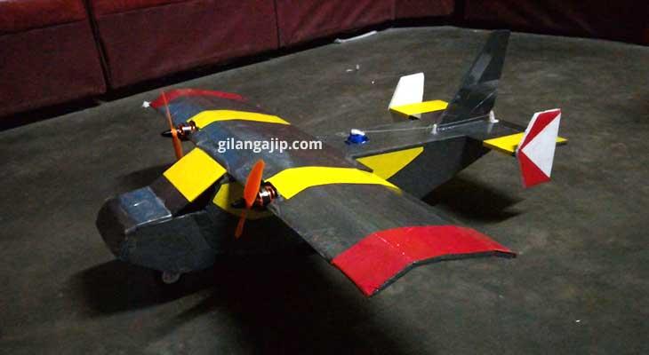 Mini Hercules RC plane pesawat gabus