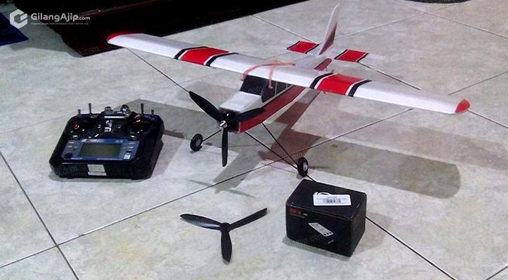 Jual Pesawat RC Gabus Homemade Mini Cessna