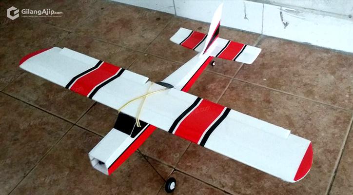 RC Plane Mini Cessna 182 Homemade